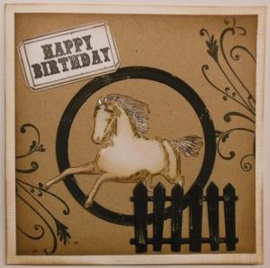 verjaardagskaart voor man met Katzelkraft