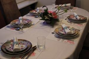Kerst 2012 de tafel
