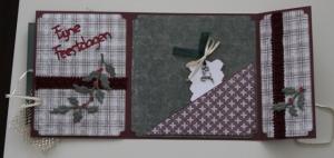 Tilda met Rudolph kaart binnenkant