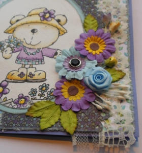 2013-03-16 scrapkaart tante Wieke met Memorybox close up