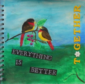 Everything is better together water soluble crayons 2