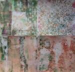gelli plate fun clean up prints