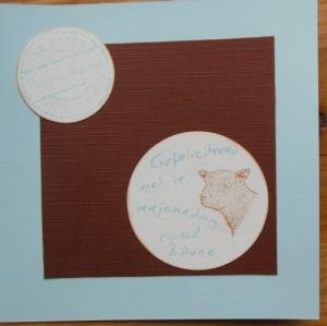 verjaardags kaart distress ink en stempels binnenkant