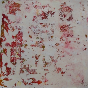 clean up gelli plate pull red green white
