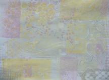 1e sessie met echte  gelli plate page 1