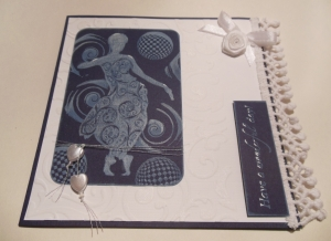 2014-02-09 Verjaardagskaart Art Journey stempels wit