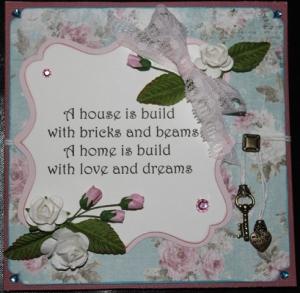 voorkant verhuiskaart love and dreams