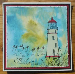 2014-04-18 Thank you card w distress paint Stampinup and Katzelkraft