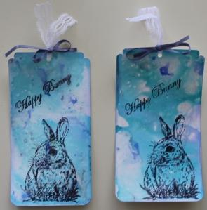 Happy Easterbunny tags