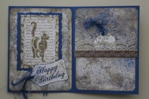 Verjaardagskaart kat-lezen binnenkant