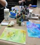 Workshop Canvas maken Creabest Art Specially 2014