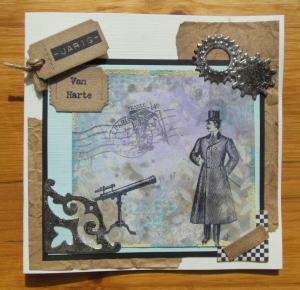 2014-09-21 verjaardagskaart met distresspaint en inkt voor man-2