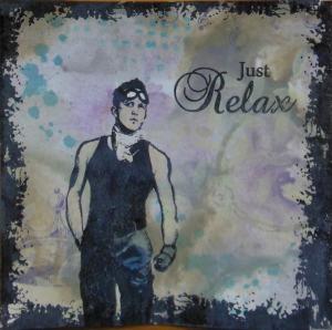 2014-09-22 distress inkt achtergrond met art journey en andere stempels