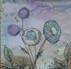 2014-09-22 distress inkt achtergrond met art journey en jofy stempels