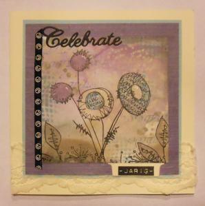 2014-10-27 Verjaardagskaart Sas met distress paint en Jofy