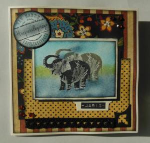 2014-11-10 Verjaardags scrapcard Dianne Graphic 45