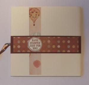 2015-01-22 Verjaardagskaart met Kaisercraft papier achterkant