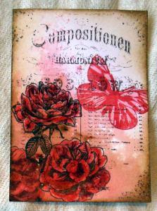 ATC Roses met bister