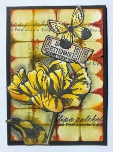 ATC with Art Journey and distress inks