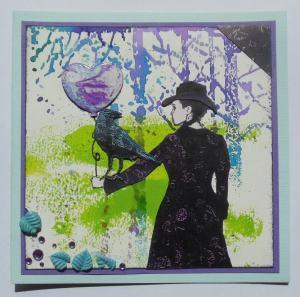 2015-05-06 Moederdag en bedank kaart met Art Journey