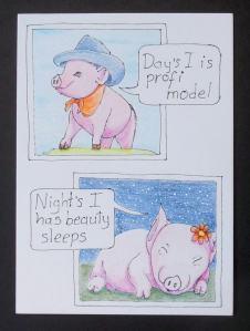 #CZC42 teken een varken
