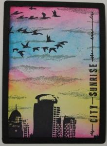 6-5-2016 City sunrise