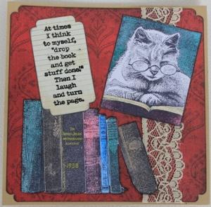 Kaart collega kat boeken-voorkant