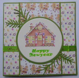 kerst-scrapcard-met-first-edition-papier-en-snoephuisje-groen