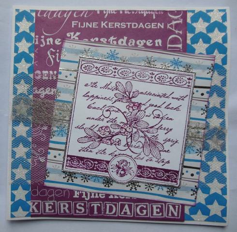 kerst-scrapcard-met-tule-zilver-webbing-en-stempelglede-stempel