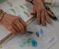 20180415 28 Art Specially workshop aquarel potloden 1