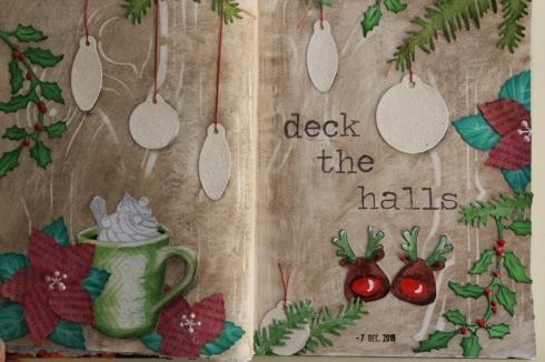 7 decmber 2019 Deck the halls